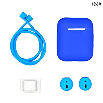 d4195fbaeec AlexGT AirPods Case 5 in 1 Airpods Accessories Kits Protective Silicone  Cover and Skin for Apple