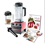 vitamix savor - Vitamix 6300 Super Package with 64oz & 32oz Dry Containers, Featuring 3 Pre-Programmed Settings, Variable Speed Control, and Pulse Function. Includes Savor Recipes Book, DVD and Spatula. 7 Year Full Warranty. (RED)