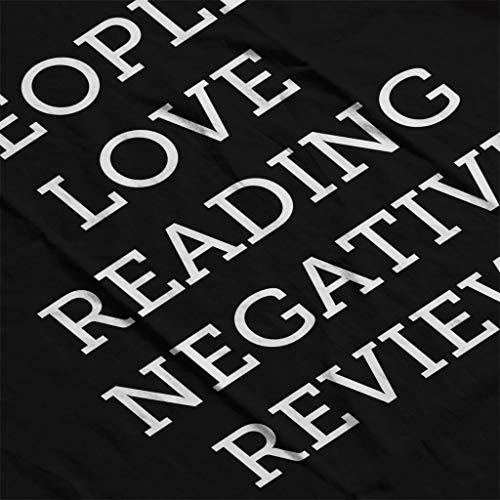 Coto7 Love Women's Negative Black People Reviews Reading Sweatshirt wOqwr