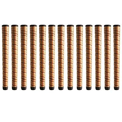 "Winn DriTac Wrap Oversize +1/8"" Copper Golf Grip Bundle (13 Piece)"