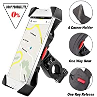 visnfa Bike Phone Mount Anti Shake and Stable Cradle...