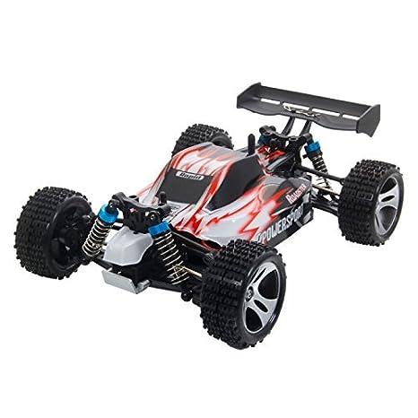 Mzamzi - Gran valor rc cars wltoys a959 vórtice 1/18 4wd 2.4g eléctrica del coche de rc off-road buggy rtr red: Amazon.es: Juguetes y juegos