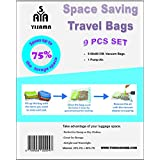 YISAMA Vacuum Bags for Travel or Pack (8 23,62X31,5 IN + Suction pump)