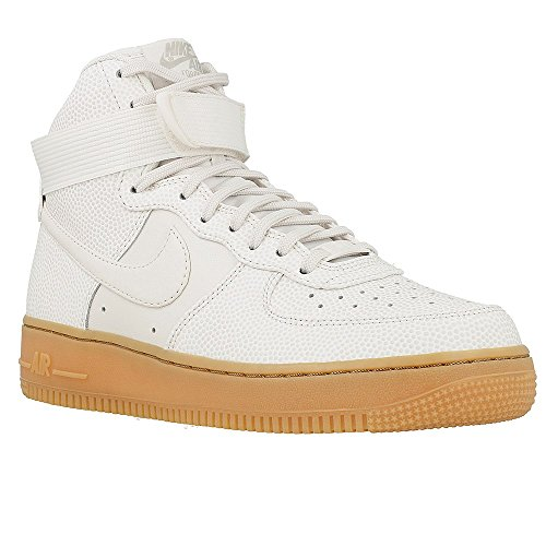 Nike Womens Air Force 1 Hi SE Hi Top Trainers 860544 Sneakers Shoes (US 7, phantom iron ore 001) (Nike Air Force One Wedge Sneakers)