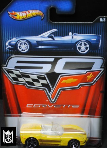 - Hot Wheels 2013 Corvette Series 60 Year Anniversary Limited Edition - Corvette C6 Convertible 6/8