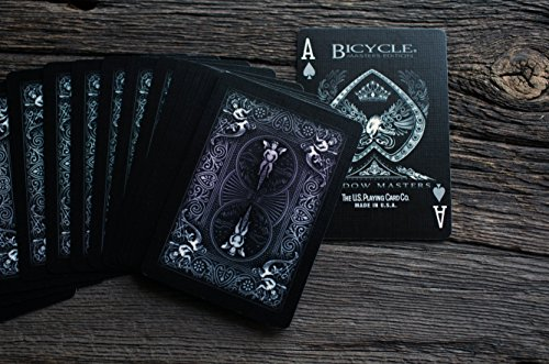 Ellusionist Bicycle Shadow Masters Playing Cards, | Desertcart