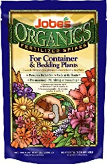 product image for Jobes 06128 Organics Fertilizer Spikes 3-5-6 50 Pack