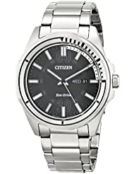 Citizen Mens AW0031-52E Drive from Citizen HTM Eco-Drive Stainless Steel Bracelet Watch