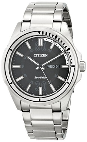 Citizen Stainless Eco Drive Bracelet (Citizen Men's AW0031-52E Drive from Citizen HTM Eco-Drive Stainless Steel Bracelet Watch)