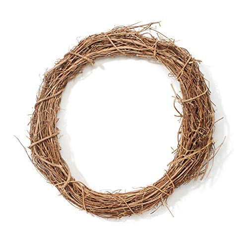 Darice Natural Grapevine Wreath: 18 inches (Wreath Vine 18)