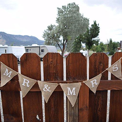 Quasimoon Wedding Triangle Pennant PaperLanternStore