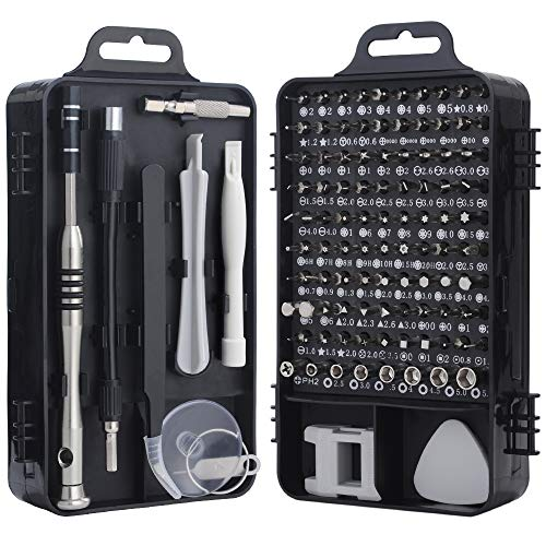 Screwdriver Set, Trekoo 110 in 1 Precision Screwdriver Repair Tool Kit Magnetic Driver Kit Professional Repair Tool Kit for iPhone X, 8, 7 / Cellphone/Computer/Tablet/PC/electronic etc ()
