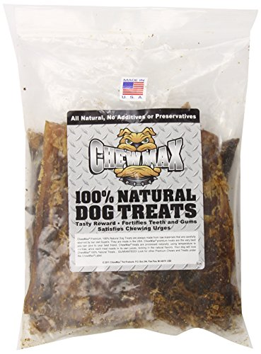 Chewmax Pet Products 10 Count Back Strap, 7 To 8-Inch