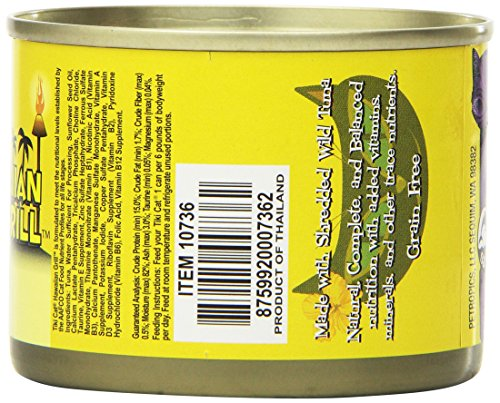 Picture of Tiki Cat Canned Food For Cats, Hawaiian Grill Ahi Recipe, 6 Oz- Case Of 8.