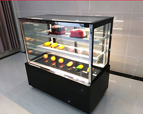 Commercial Countertop Refrigerated Cake Showcase Right Angle Bakery Cabinet Cooling Display Case With Led Light Item 210080 Buy Online In Uae