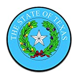 More Shiz Texas State Seal (2 Pack) Vinyl Decal Sticker - Car Truck Van SUV Window Wall Cup Laptop - Two 5 Inch Decals - MKS0930