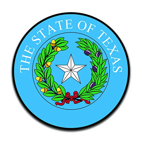 (More Shiz Texas State Seal (2 Pack) Vinyl Decal Sticker - Car Truck Van SUV Window Wall Cup Laptop - Two 5 Inch Decals - MKS0930)