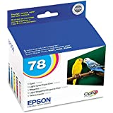 Epson T078920 (78) Claria Ink, 5/Pack, Assorted