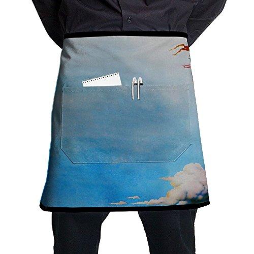 Kjiurhfyheuij Half Short Aprons The Holy Grail Waist Apron With Pockets Kitchen Restaurant For Women Men Server by Kjiurhfyheuij