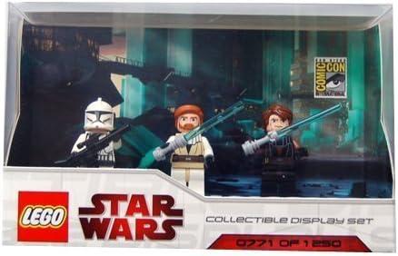 LEGO Star Wars Minifigures Set - 2009 Comic Con Exclusive (Includes Anakin, Obi-wan and Clone Trooper)