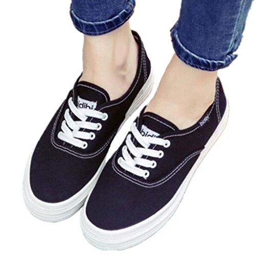 Diario Cómodo Zapatos White Zapatos XIE BLACK Lona Zapatos Pequeño Fondo Señora Negro Ocio de Movimiento Blanco Blanco 39 Blanco Estudiantes Grueso 35 OwUwZ8q