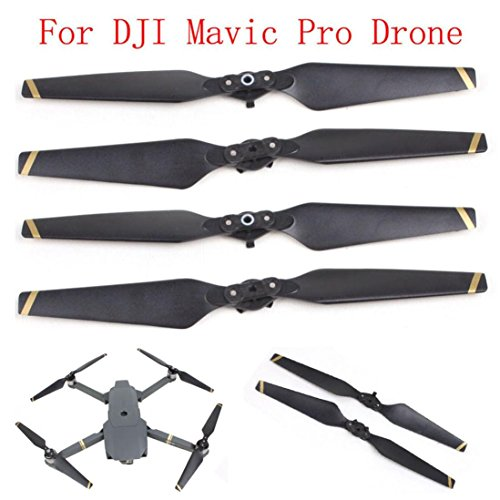 Price comparison product image Creazy 2 Pair 8330 Quick-release Folding Propellers Screw Prop For DJI Mavic Pro