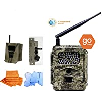Cost Saving SPARTAN gocam Pre-packaged- AT&T Infrared Version (#GC-ATTi) Bundle with Security Box, Swivel Mount and Branded Microfiber Towels
