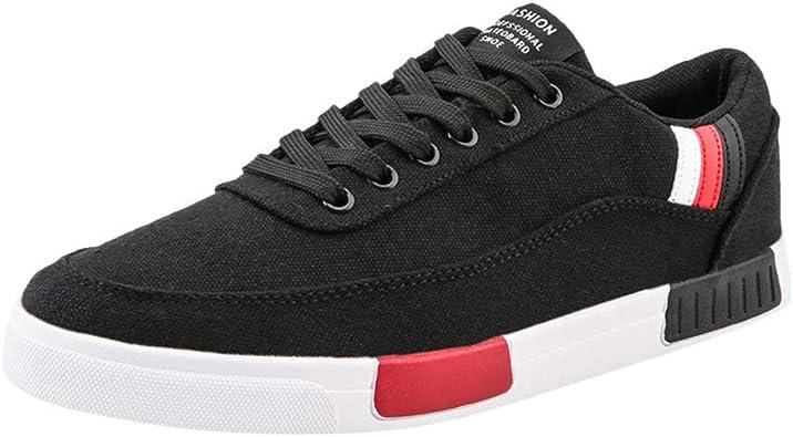 Deportivas de Verano Elegantes, Zapatillas de Running Altas de Tela Transpirable para Hombre, Zapatos de Trabajo Casual de Trabajo Color Liso Size: 42 EU: Amazon.es: Zapatos y complementos