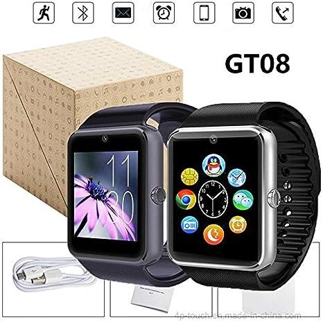 SmarWatch Reloj Inteligente GT08 Plus Modelo 2018 Bluetooth ...