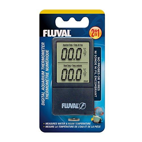 Fluval 2-in-1-Aquarium, Das Thermometer