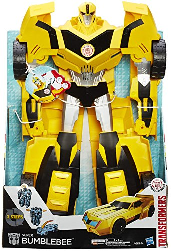 Hasbro Transformers B0757EU5 - Robots in Disguise Super Bumblebee, Actionfigur