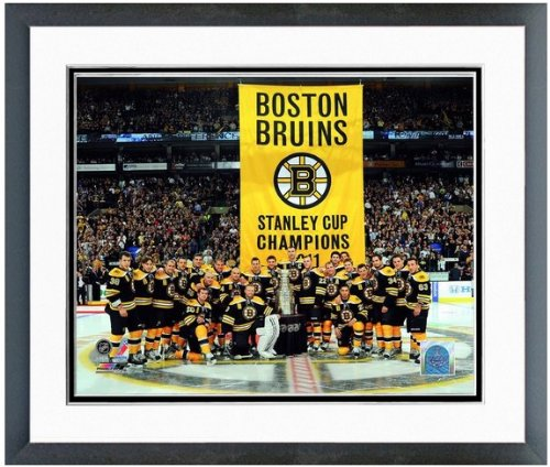 Boston Bruins 2011 Stanley Cup Team Photo (Size: 12.5