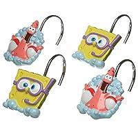 SpongeBob Squarepants ganchos de la cortina de ducha