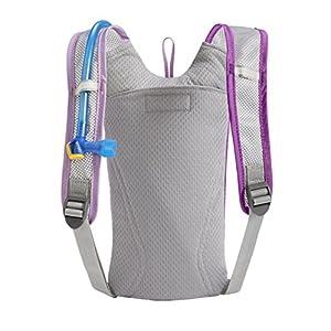 CamelBak Kid's 2016 Skeeter Hydration Pack, Sheer Lilac/Purple Cactus Flower