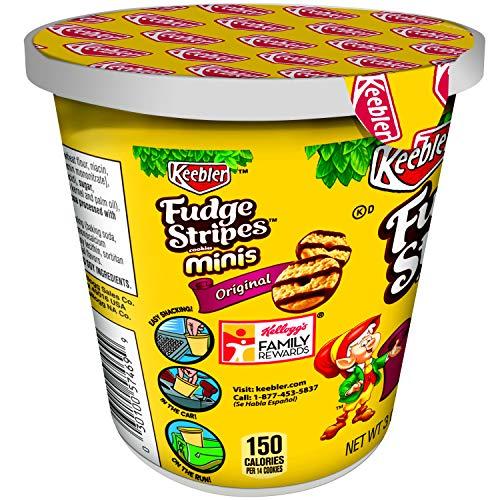 KeeblerFudge Stripes Cookies Minis in a Cup, Original, 3 oz by Keebler (Image #6)