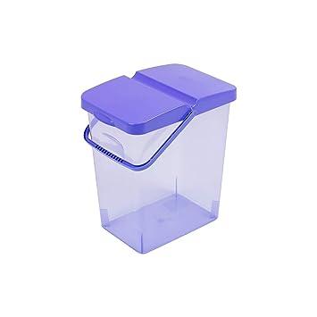 10 L Behalter Waschpulver Futterbehalter Unibox Mit Deckel Blau