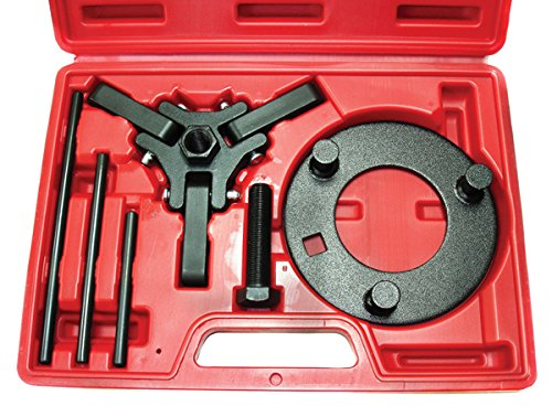 PMD Products Chrysler GM Ford Mitsubishi 3 ARM Harmonic Balancer Dampener Puller Kit with Case (Chrysler Puller Harmonic Balancer)