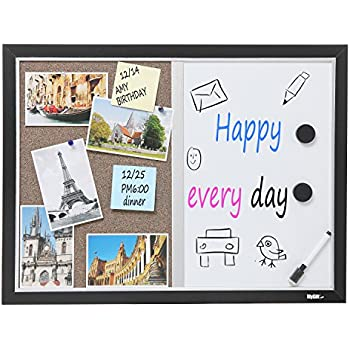 Amazon.com : Quartet Dry Erase Combination Board, Magnetic, 11\