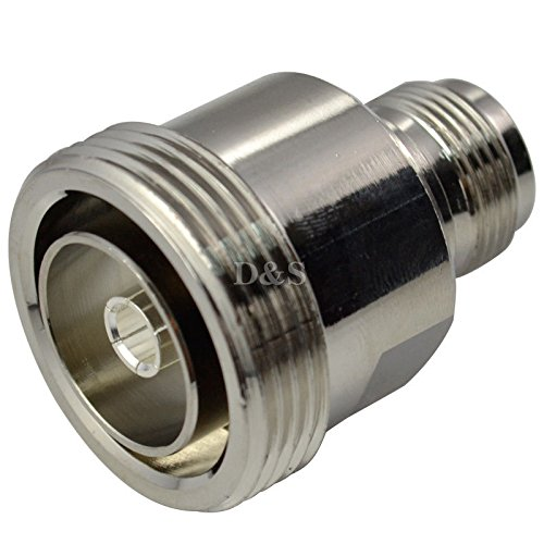 L29 DIN 7/16 Female Jack to N Female Jack Straight RF Coaxial Adapter Connector