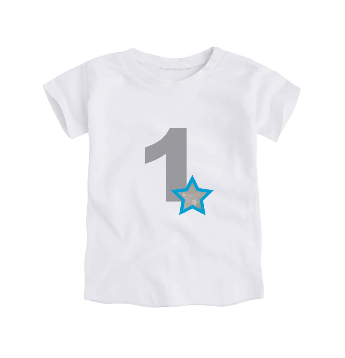 Body o Camiseta Primer Cumpleaños 1 Año/Número 1 para Bebes ...