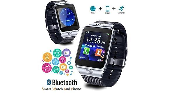 Indigi® 2 en 1 inalámbrico pantalla táctil universal SmartWatch ...