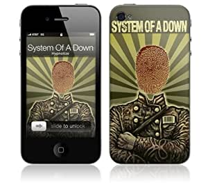 Music Skins MS-SOAD20133 iPhone 4- System of a Down- Thumbprint Soldier Skin