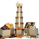 Dry Fruit & Nut Tower by Gift Basket
