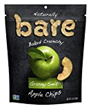 Bare Natural Apple Chips, Granny Smith, Gluten Free + Baked, Multi Serve Bag - 3.4 Oz (6 Count)