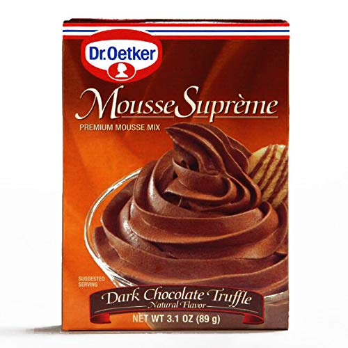 Dr. Oetker Dark Chocolate Truffle Mousse .75 oz (3 Items Per Order, not per -