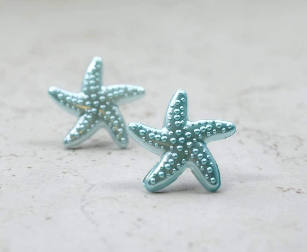 Beach Studs Tropical Fish Studs Fish Earrings Fish Studs Vacation Earrings Blue Studs Tropical Earrings Blue Fish Studs Animal Studs