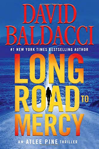 David New Book - Long Road to Mercy (An Atlee Pine Thriller)