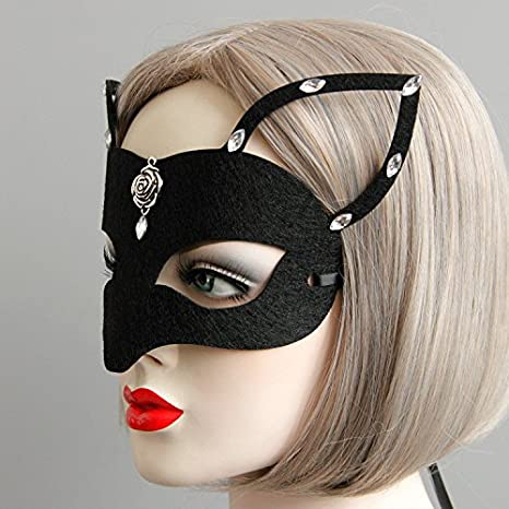 Amazon.com: Simplylin Sexy Elegant Eye Face Mask Masquerade ...