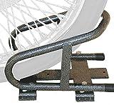 Motorcycle Wheel Chock by Rack'em Mfg