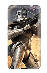Durable YY-ONE For Galaxy Note 3 Tpu Cover(star Wars Battlefront Elite Squadron)